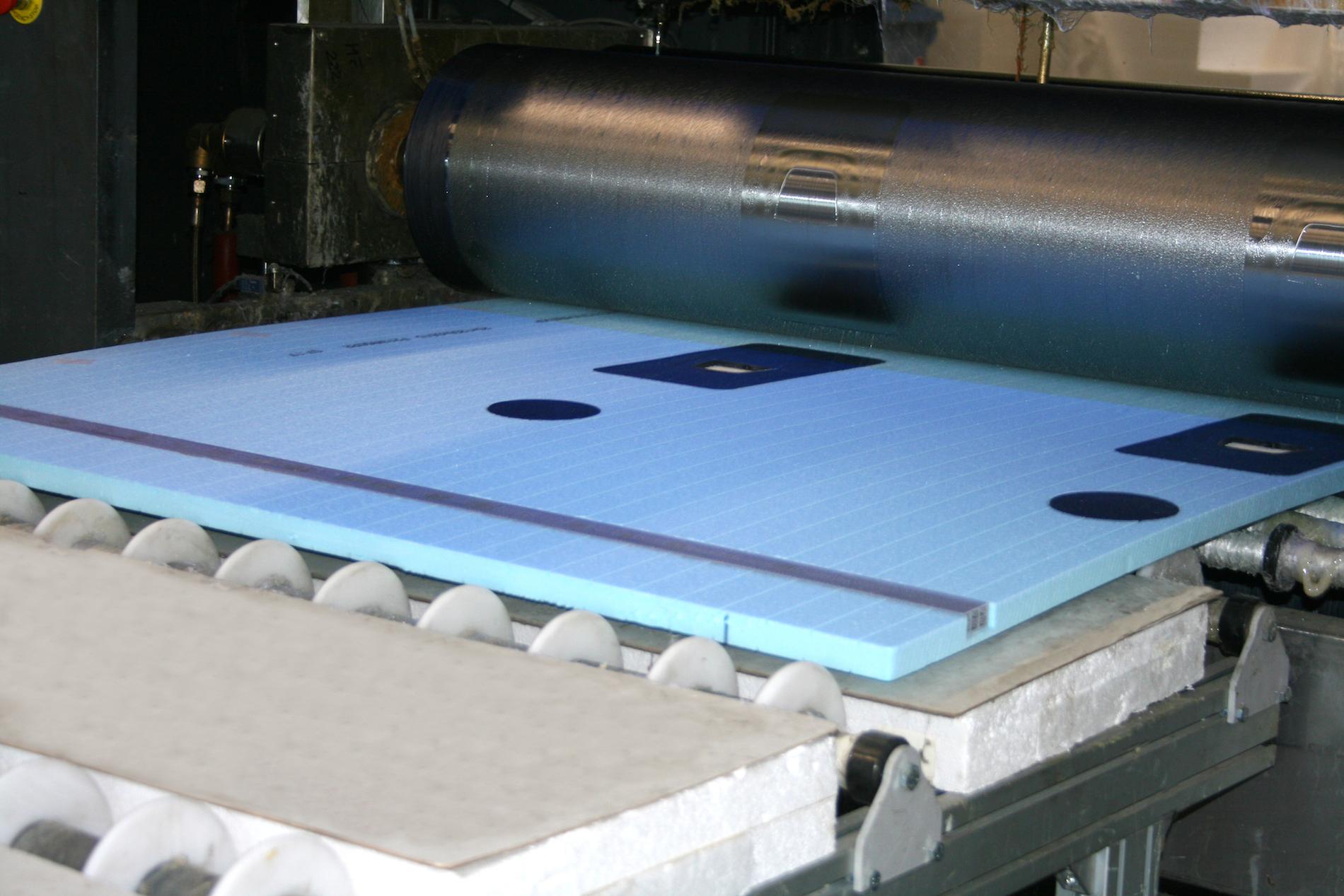 Palomar production sandwich panels semi-finished components